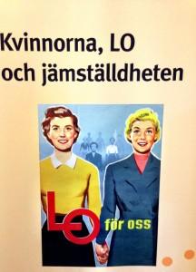 LOs jämställdhetsseminarium 8 mars 2013